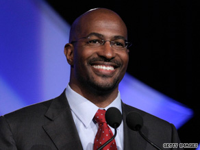 """We want to bring green jobs to people who don't have hope,"" says Van Jones, the president's ""green jobs"" chief."