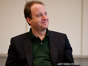 Jared Polis says health care reform discussions have protected small business from potential harm.