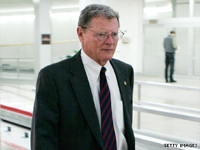 Sen. James Inhofe, R-Oklahoma, says his party may have enough votes to stall Democratic health care reform.
