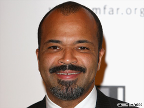 Actor Jeffrey Wright says a nation that put a man on the moon should be able to take race out of policing.