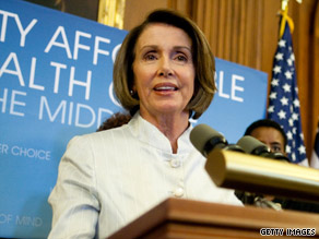 U.S. House Speaker Nancy Pelosi predicts a health care reform bill will go the House floor and pass.