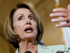 Talks in House Speaker Nancy Pelosi's office Tuesday night end without a deal on helath care reform.