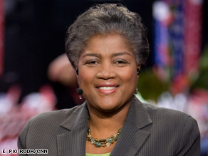 Donna Brazile says Americans must &quot;reconcile racial differences without resorting to name-calling.&quot;