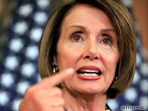 Speaker Nancy Pelosi says House Democrats will return to their districts ready to defend the bill.