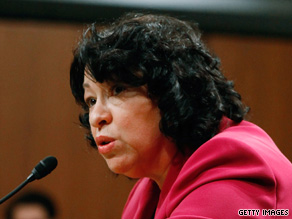 If confirmed, Sonia Sotomayor would be the nation's first Hispanic on the Supreme Court and its third woman.