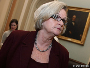 Sen. Claire McCaskill, D-Missouri, says her goal is to have a 'civil' debate at town hall meetings.