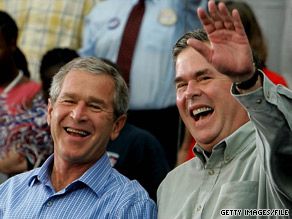 George and Jeb Bush are the only sons of a president to make it to the governor's mansion.