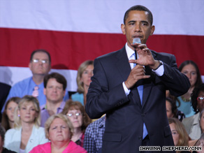 President Obama held a health care town hall in New Hampshire Tuesday.