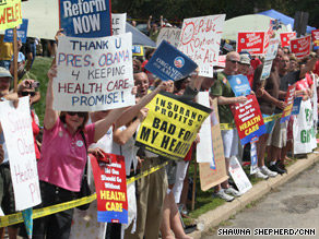 The battle over health care reform has energized people on both sides of the debate.
