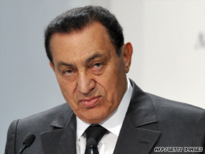 Egyptain President Hosni Mubarak will visit the White House on Tuesday.