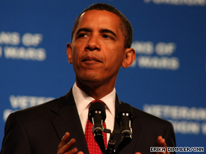 More money will be spent to treat and screen war veterans for post-traumatic stress and brain injuries, Obama says.