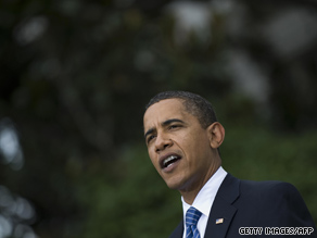 President Obama speaks at the White House Wednesday.