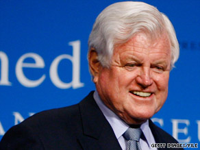 Sen. Ted Kennedy wanted to change a law to allow the appointment of a temporary replacement.