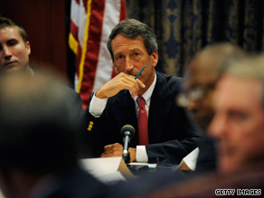 "Mark Sanford continues to defend his administration's ""incredible record"" of using taxpayer money wisely."