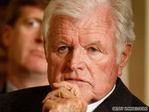 "Massachusetts Sen. Ted Kennedy, known as the ""Lion of the Senate,"" died Tuesday at 77."