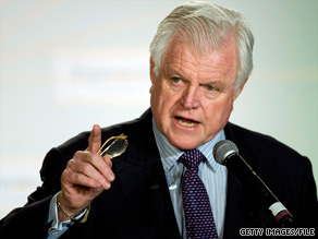 "Sen. Ted Kennedy was ""a brave and courageous warrior"" for liberal causes, says Ed Rollins."