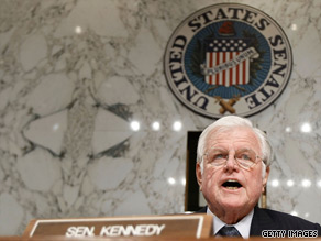 Edward 'Ted' Kennedy of Massachusetts served in the U.S. Senate for 47 years.