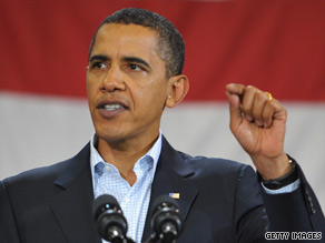 President Obama says he profited as president from Kennedy's encouragement and wisdom.