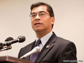 "Rep. Xavier Becerra, D-California, rejected a citizenship verification system, calling rules it called for ""unworkable."""
