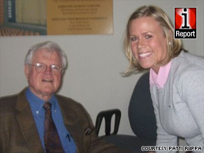"""Patti Riippa met her political idol, Ted Kennedy, at a book signing. """"I'll never forget that twinkle in his eye,"""" she said."""