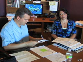 Mark Kollar and Angela Baca-Kollar took part in the Making Home Affordable program.