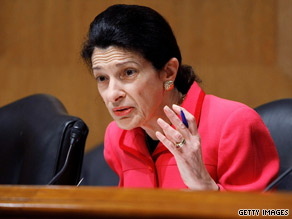 Sen. Olympia Snowe has received overwhelming support from her constituents in past elections.