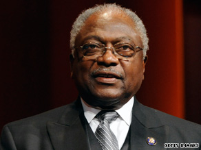 Rep. Jim Clyburn, D-South Carolina, is urging Democrats to compromise on a public option plan.