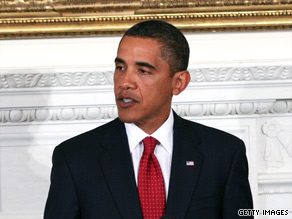 Fifty-two percent of people in CNN poll believe Barack Obama's policies will move country in right direction.