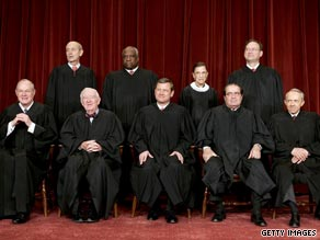 Justices on the Supreme Court say they are like a family, and change is sometimes difficult.