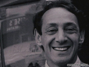 Harvey Milk was California's first openly gay elected official. He was assassinated in 1978.