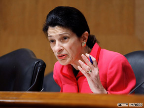 Sen. Olympia Snowe is part of the bipartisan Senate group negotiating on health care.