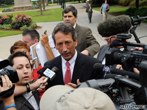 S.C. Gov. Mark Sanford has been at the center of controversy since his admission of an affair.