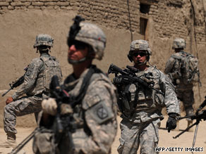 Just 39 percent of Americans support the war in Afghanistan. Fifty-eight percent oppose the mission.