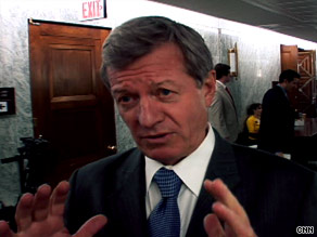 Sen. Max Baucus revealed a health care reform plan that does not include a public option but mandates coverage.