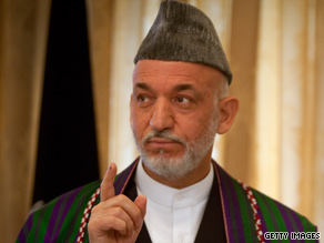 "Afghan President Hamid Karzai insists his government is ""credible and legitimate."""