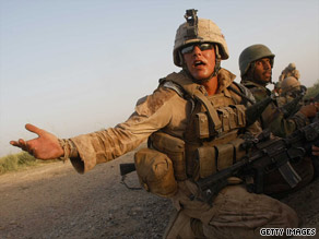 The United States has about 62,000 U.S. troops in Afghanistan.