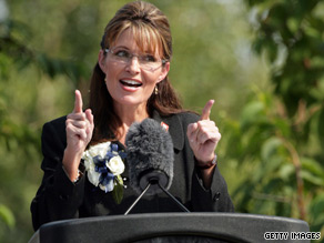 Sarah Palin is expected to speak on governance and economics in Hong Kong.