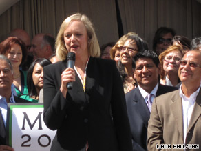 Former eBay head Meg Whitman is running for California governor. One of her opponents is also from the tech world.