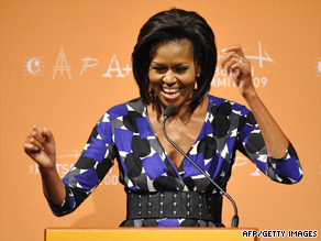 "First lady's attitude about the effort to secure Chicago's bid for the 2016 Olympics: ""Take no prisoners."""