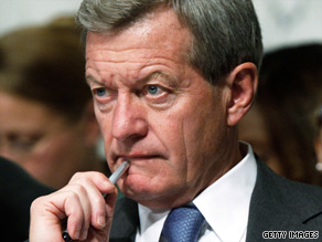 Sen. Max Baucus says he likes the idea of a public option, but he doesn't think he can get the votes with it.