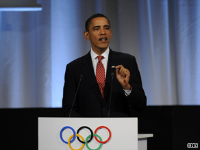 President Obama personally appealed to IOC members for the 2016 summer Olympic Games to be in Chicago.
