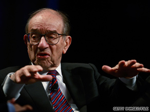 Alan Greenspan fights back.