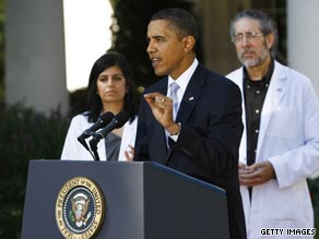 President Obama made his most recent appeal for health care reform during an appearance with doctors.