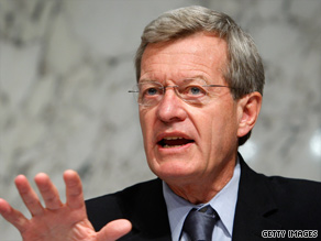 Sen. Max Baucus has spent months working on a health care bill with others on the Senate Finance Committee.