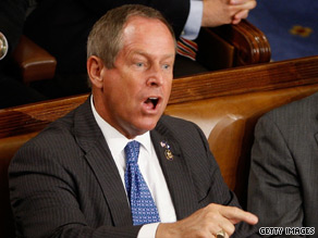 Rep. Joe Wilson&#039;s wife has swine flu.