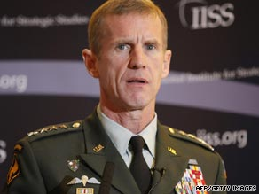Gen. Stanley McChrystal reportedly wants as many as 40,000 more U.S. troops in Afghanistan.
