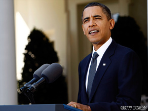 President Obama speaks about his Nobel award at the White House.