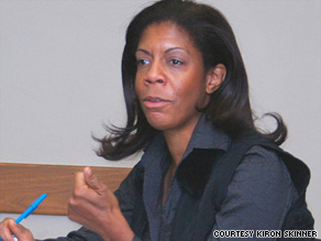 Kiron Skinner says the Nobel Committee recognizes the predominant power of the United States.