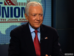 Sen. Orrin Hatch, R-Utah, has raised questions about how much malpractice reform would save.