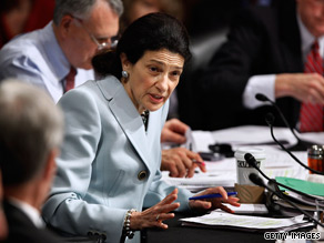 Sen. Olympia Snowe, a Maine Republican, says she hopes some bipartisanship can be restored.
